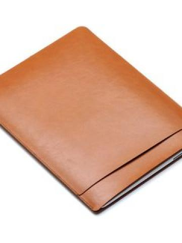 Faux Leather Laptop Sleeve